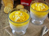 "Salty & Sweet Banana ""Ice Cream"" & Mango Parfaits"