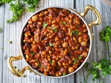 Slow Cooker Three Bean Stew With Cocoa