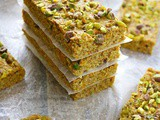 Sweet Potato Pistachio Bars
