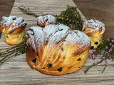 Easter Kulich – Cruffin