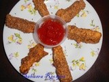 Paneer Sesame Fingers with a Twist