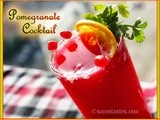 Pomegranate(Anar) Mocktail