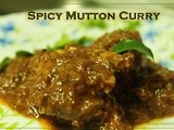 Spicy Kerala Mutton Curry (Restaurant Style)