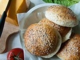 7-Grain Homemade Hamburger Buns (Bread Machine)