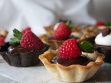 Chocolate Ganache Mini-Tarts