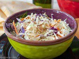 Crunchy Coleslaw: This Version is One of the Best