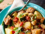 Meatball Ratatouille Soup: An Easy Way To Try Eggplant