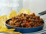 Picadillo (and the Tiny Distraction in Our Family)