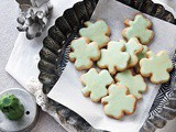 Shamrock Shortbread Cookies with a Secret for Easy Roll-Out