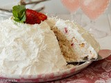 What To Do When Your Angel Food Cake Doesn't Rise High Enough | Strawberry Snowball Cake