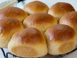 White Whole Wheat Dinner Rolls + a Video Tutorial About Shaping Rolls