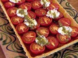 Review: Rice Flour Pastry and a Tomato and Goats Cheese Tart