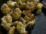 Cauliflower, Currants, Balsamic