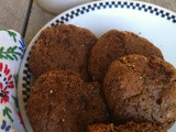 Chewy Chewy Chocolate Ginger Cookies (Paleo)