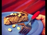 Peanut Butter, Roasted Banana, Chocolate Layer Pie