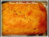 Carrot and Raisin Sweet Bread - whole meal & Oats