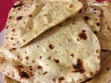 Coriander Nan ( Indian flat bread )