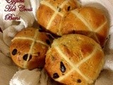 Eggless Hot Cross Buns for Easter ( Tangzhong Method )