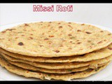 Missi Roti (Authentic Punjabi Cuisine) - a Flat Bread with mixed Flours