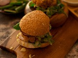 Quinoa and cannellini Bean Burgers