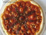 Pizza  marinara  in teglia