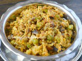 Cauliflower Peas Egg Bhurji