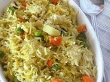 Simple Masala Pulao  ~ Gujarati Style
