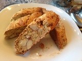 Almond Biscotti (gluten free and date sweetened)