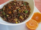 Citrus Red Quinoa Salad