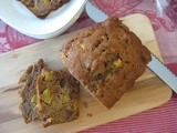 Fresh Peach and Pecan Quick Bread (giveaway winner announced)