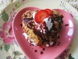 Indulge me… Chocolate Strawberry Shortcake with Chocolate Brandy Sauce