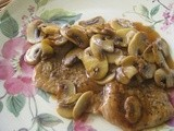 Veal Scaloppine Marsala