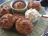 Warm Orange Honey Biscuits with Orange Mascarpone Spread