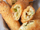 Jalapeno Popper Egg Roll
