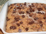 Banana chocolate chip cake {Secret Recipe Club}