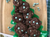 Chewy chocolate mint chip cookies