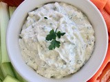 Fresh garlic & herb dip
