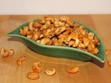Honey-sesame cashews