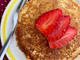 Old-fashioned cornmeal griddle cakes