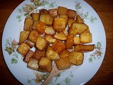Orange and honey roasted rutabaga
