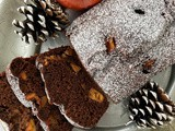 Persimmon gingerbread loaf cake