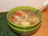 Rabbit and dumpling stew