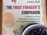 Roated maple blueberries & a review of  The Fruit Forager's Companion