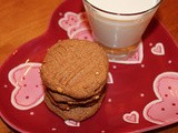 Salted peanut butter-honey cookies