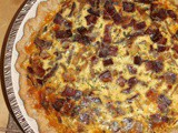 Savory onion pie