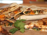Sweet potato pork quesadillas {Secret Recipe Club}