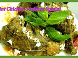 Mint Chicken-Coconut flavored Super easy party dish