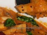 Mushroom Chettinadu (Mushrooms in spicy gravy) South Indian