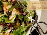 Cinnamon Apple and Toasted Walnut Salad