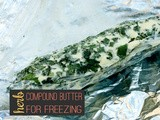 Compound Butter for Freezing